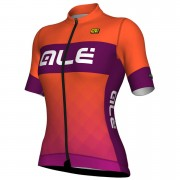 Alé Women's R-EV1 Rumbles Jersey - Orange - XL - Orange