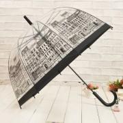 Umbrela transparenta tip clopot-town