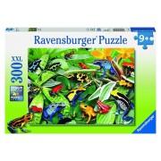 Puzzle Broscute prietenoase, 300 piese XXL