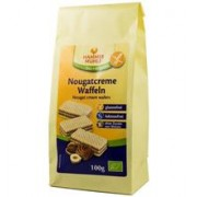 Napolitane cu Crema de Nougat Bio 100gr Hammer Muhle