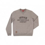 Indian Motorcycle Pulover pentru barbati gri IMC SWEAT