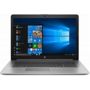 "Laptop HP ProBook 470 G7 (Procesor Intel® Core™ i7-10510U (8M Cache, up to 4.90 GHz), Comet Lake, 17.3"" FHD, 8GB, 1TB HDD @5400RPM + 256GB SSD, AMD Radeon 530 @2GB, Win10 Pro, Argintiu)"