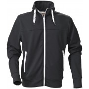 Printer Jog Lady Sweatshirt 2262037 Zwart - Maat XXL