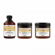 Davines Natural Tech Trio Nourishing (Cabello seco/Dañado): Champú (250ml) + Acondicionador (250ml) + Mascarilla (250ml)