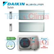 Daikin Climatizzatore Condizionatore Dual Split Dualsplit Parete Inverter Bluevo