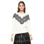 Desigual Doamnelor pulover Jers Saruka 17WWJFA7 1001 S