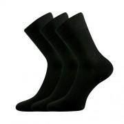 Lonka 3PACK ponožky Lonka černé (Dypak Modal) L