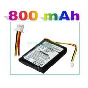 Bateria TomTom ONE F650010252 F709070710 800mAh 3.0Wh Li-Ion 3.7V