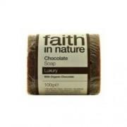 Faith in Nature Bio kakaó (csokoládé) szappan, 100 g