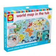 Alex Tapassz a csempére! - világtérkép