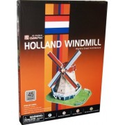 3d Puzzle Holland Windmill