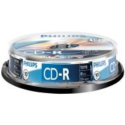 PHI CR7D5NB10/00 - Philips CD-R 700, 52x Speed, Spindel 10