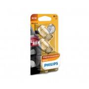 SET 2x Bec auto Philips VISION 12065B2 W21W W3x16d/21W/12V