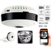 7links IP-Panorama-Überwachungskamera für 360°-Rundumsicht & Nachtsicht, 960p