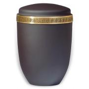 Design Urn met klassiek messing sierband (4 liter)