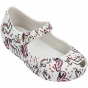 Balerinas Mini Melissa Ultragirl Theme Bb - Blanco