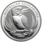 The Perth Mint Kookaburra Stříbrná mince 1 AUD Australian Ledňáček 1 Oz 2012