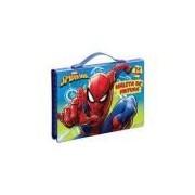 Maleta De Pintura Spider Man 72 Itens 5280 Molin