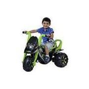 Moto Elétrica Infantil Fox G-Force Teen Hunter Verde - Boemme