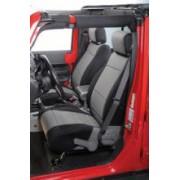 Set Huse Scaune FATA - Neoprene Custom-Fit Front Seat Covers pt. 07-10 Jeep Wrangler & Wrangler Unlimited JK