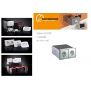 Cassaforte/Cassetta di sicurezza a scomparsa/mimetica finta presa elettrica CAMALEONTE - Mod. 1 Cassetto