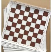 Tablă de șah din PVC maro (50cm)