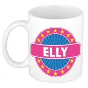 Bellatio Decorations Voornaam Elly koffie/thee mok of beker