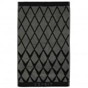 Esprit Luxusní froté ručník, koupací ručník, černá barva Esprit - 30x50