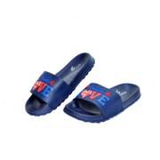 Rock Time Men's and Women's Crocband III Seasonal Graphic Slide Slippers (LUV Blue)