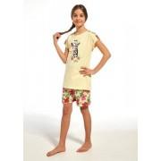 Cornette Young Girl 246/65 Aloha Dívčí pyžamo 158-164 žlutá