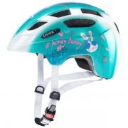 Uvex Finale Led - casco bici - bambino - Light Green