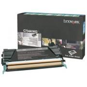 Lexmark Tóner LEXMARK C734A1KG 8000Pág. Negro