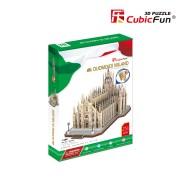 CubicFun Puzzle 3D Domul din Milano 251 de piese