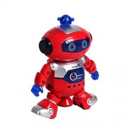 FANOUD Electronic Walking Dancing Smart Space Robot Astronaut Kids Music Light Toys