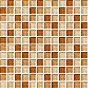 Maxwhite ASHS224 Mozaika skleněná hnědá mix 29,7x29,7cm sklo