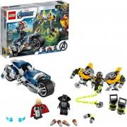 LEGO Marvel 76142 Vengadores: Ataque en Moto
