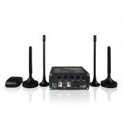 ROUTER, TELTONIKA RUT955, GPS, Dual-SIM LTE, Wireless-N, 300Mbps, 4xEthernet ports, VPN server (RUT95017V020)