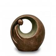 Grote Keramische Art Urn Eenzaam. Maar Niet Alleen (3 liter)