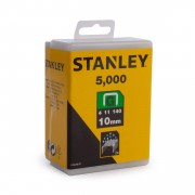 Capse profesionale otel galvanizat Tip G 10mm 5000buc Stanley - 1-TRA706-5T