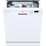 Neff S41E50W1GB Built In Semi Integrated Dishwasher - White