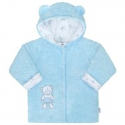 NEW BABY Zimní kabátek New Baby Nice Bear modrý 36844
