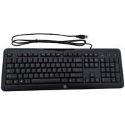 USB Keyboard 108 Ke HP Brabnd (643691-001) Black Color