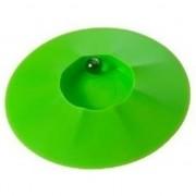 Geen Knikkerpot groen met knikkers 17 cm