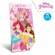 Disney Hercegnők fürdőlepedő - strand törölköző