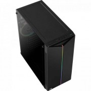 Gabinete Gamer Mid Tower Split RGB AEROCOOL