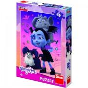 Puzzle clasic pentru copii - Vampirina , 48 piese