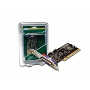 Adaptor PCI la serial 2 porturi si 1 port paralel DIGITUS DS-33040-1