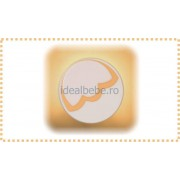 Erbesi Italia - Aplica de perete BUCANEVE alb-verde-orange