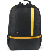 Protecta Right Angle Laptop Backpack for Laptops with Screen Size up to 15.6 inch. (Black & Yellow)