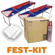 StudyShop Beer Pong Fest-Set inkl. Becher und Bälle